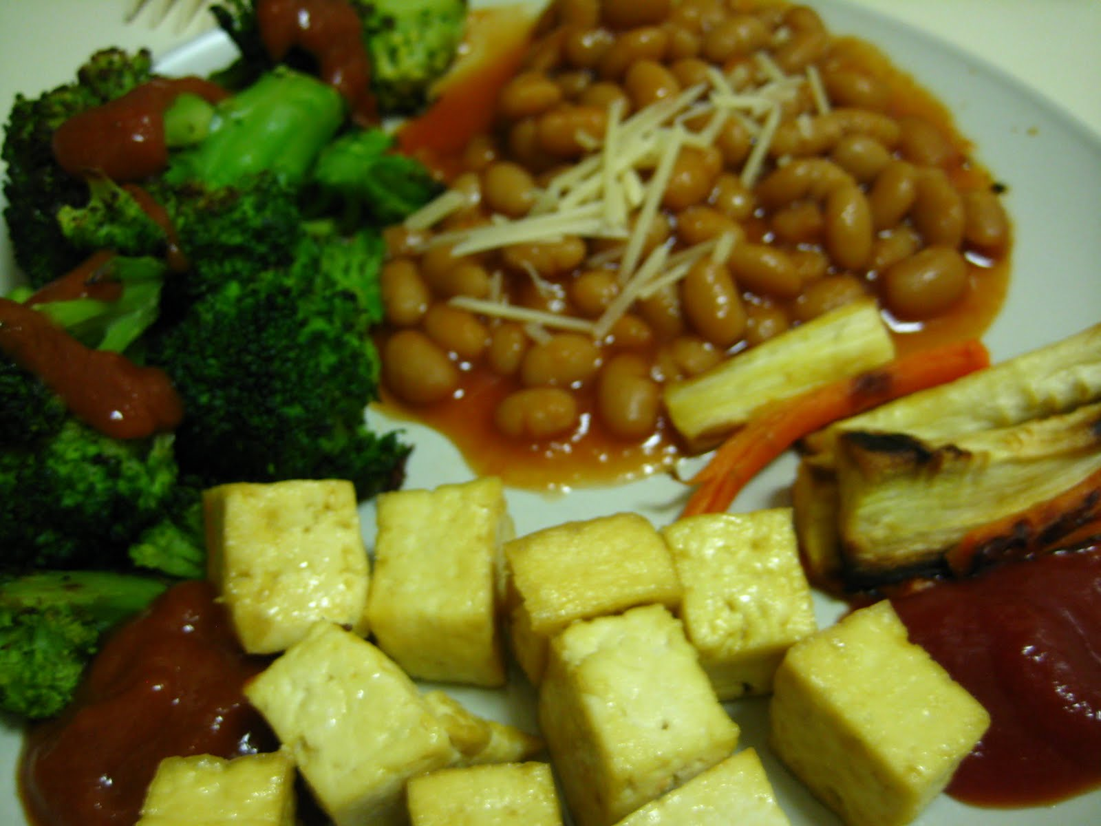 Baked Beans & Pears With Broccoli Salad Recipes — Dishmaps